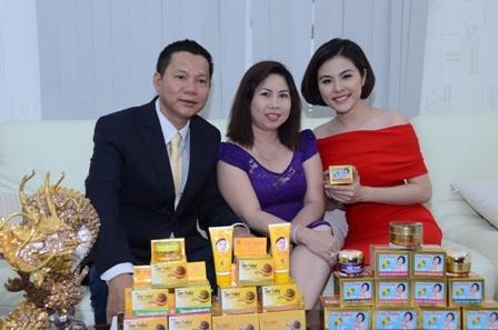Doanh nhân Ngọc Lang đã xây dựng thương hiệu mỹ phẩm Đăng Dương được nhiều người tin dùng