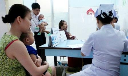 Số lượng trẻ tham gia tiêm vét quá ít không đảm bảo được độ bao phủ phòng dịch trong cộng đồng