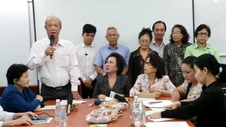 Ông Huy Tiến thay mặt các hội, cảm ơn Thủ tướng Chỉnh phủ và các bộ ngành liên quan