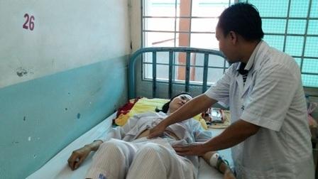 Sau phẫu thuật cắt đại tràng, nữ bệnh nhân đã được giải thoát khỏi tình trạng táo bón