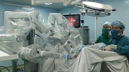 Đây là hệ thống phẫu thuật robot thứ 2 được triển khai trên cả nước