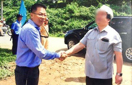 Ông Trịnh Quang Sơn là Tổng giám đốc công ty TNHH Việt Nga (ảnh luật sư cung cấp)