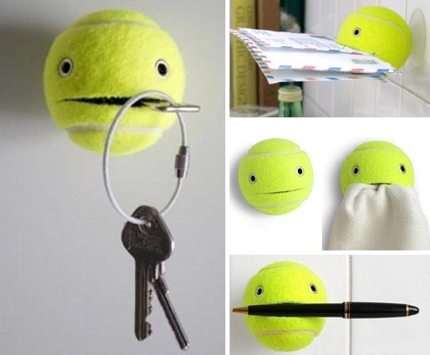 Đừng vội vứt quả bóng tennis đã cũ đi. Nó mang nhiều tác dụng hơn bạn tưởng đó.