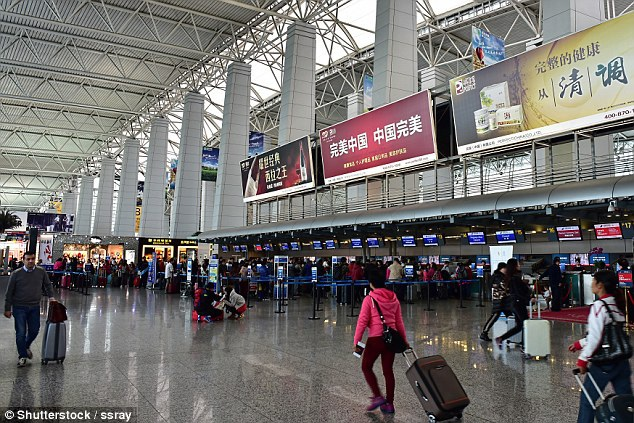 Bên trong sân bay lớn thứ 3 Trung Quốc