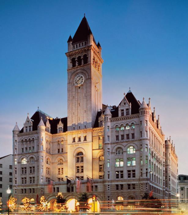 Khách sạn chỉ cách Nhà Trắng chừng 15 phút đi bộ