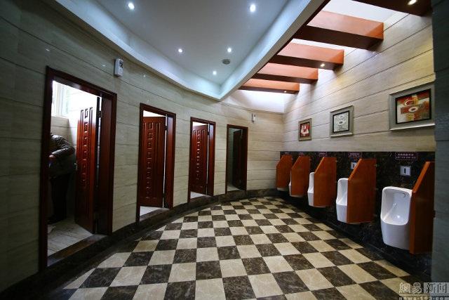 Nhà WC có tổng diện tích lên tới 150m2