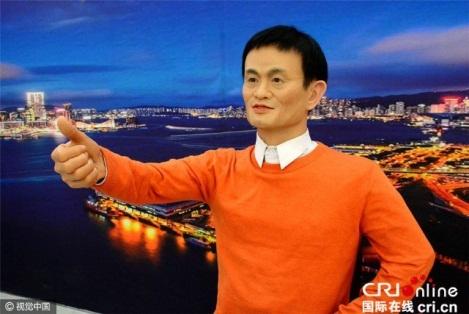 Bức tượng sáp Jack Ma – Mã Vân, tỷ phú đồng thời là người sáng lập điều hành tập đoàn Alibaba. Ông cũng là doanh nhân Trung Quốc đại lục đầu tiên xuất hiện trên trang bìa tạp chí Forbes.