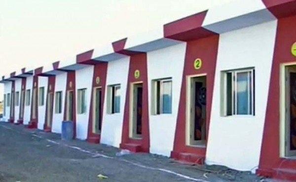 90 căn nhà được xây dựng dành cho những người vô gia cư