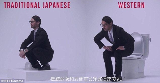 WC ở Nhật Bản chia thành 2 loại truyền thống và phương tây