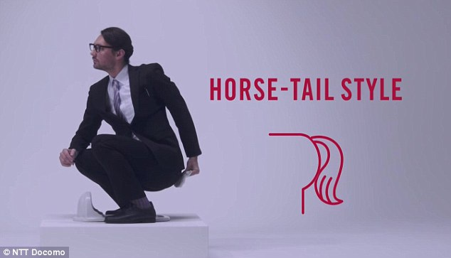 Cách lau theo kiểu đuôi ngựa