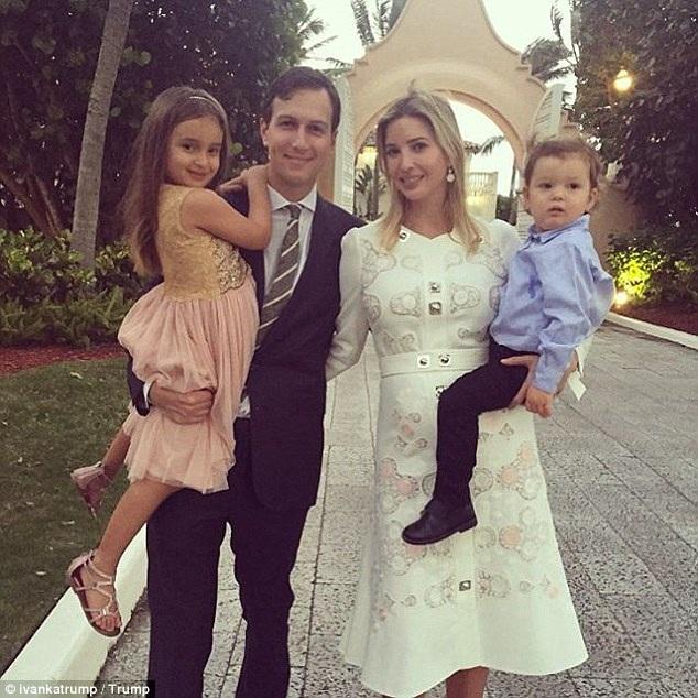 Gia đình cô con gái đầu của ông Trump – Ivanka Trump cũng có một phòng suite đặc biệt ở đây