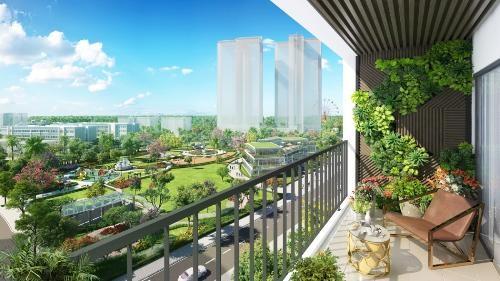 Tầm view đắt giá từ mỗi căn hộ tại Eco-Green Saigon