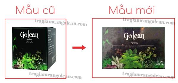 Bị làm giả sản phẩm, trà thảo mộc Golean Detox thay đổi bao bì từ hộp hình vuông sang hộp chữ nhật - 1