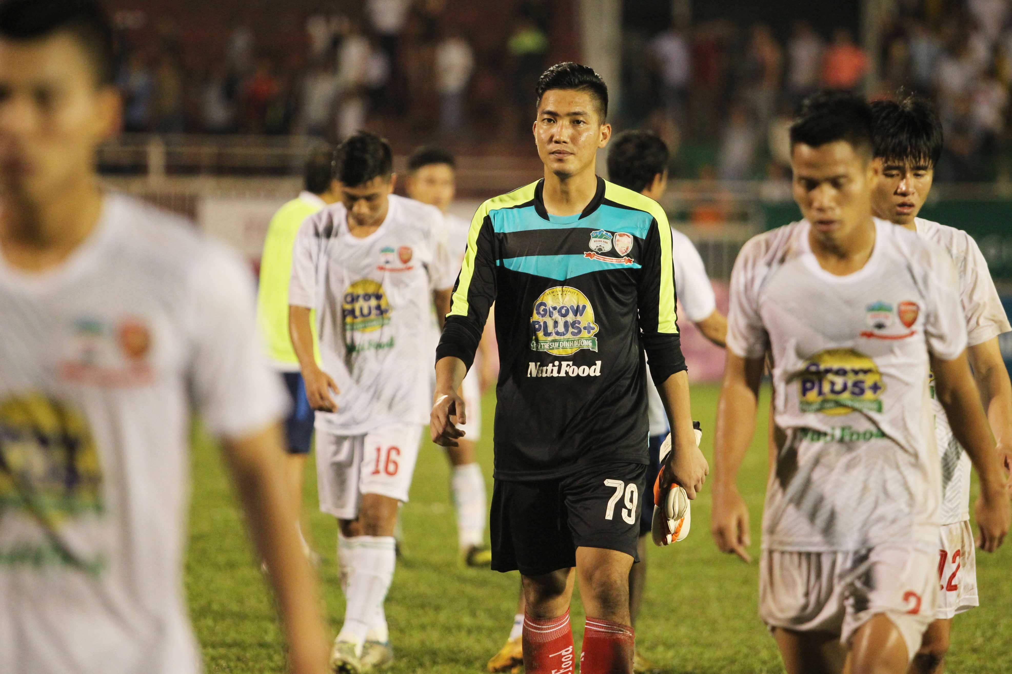 HA Gia Lai thất bại ở bán kết giải U21 quốc tế (ảnh: Nguyễn Đình)