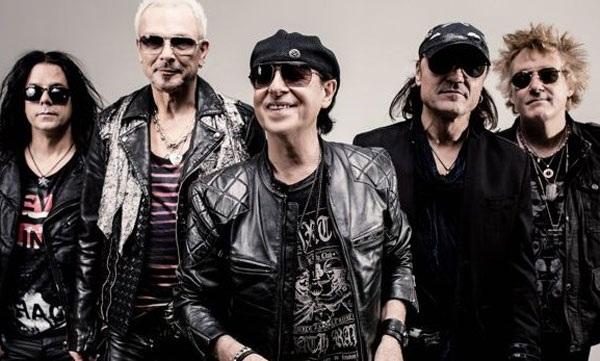 Nhóm nhạc rock huyền thoại SCORPIONS (Đức)
