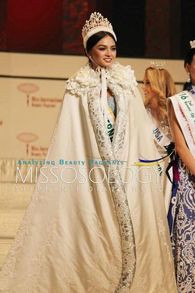 Tân Hoa hậu Quốc tế không được đánh giá cao về nhan sắc.