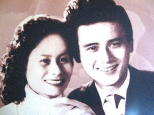 Vợ chồng nghệ sĩ Phạm Bằng thời trẻ.