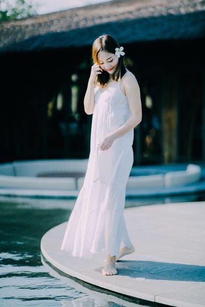 Diễn viên Lan Phương khoe vẻ đẹp vừa trong trẻo vừa quyến rũ - 4