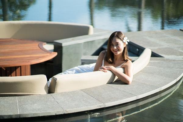 Trước đây, người đẹp từng ứng cử vị trí Đại sứ Du lịch Việt Nam.