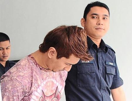 Muhamad Izzat - một trong những tên quá khích nhất trong vụ tấn công CĐV Việt Nam phải hầu tòa