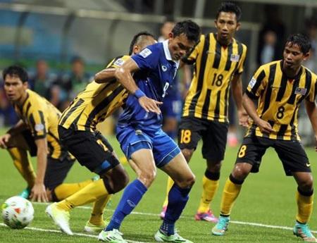Người Thái phàn nàn rằng các cầu thủ Malaysia có rất nhiều tiểu xảo