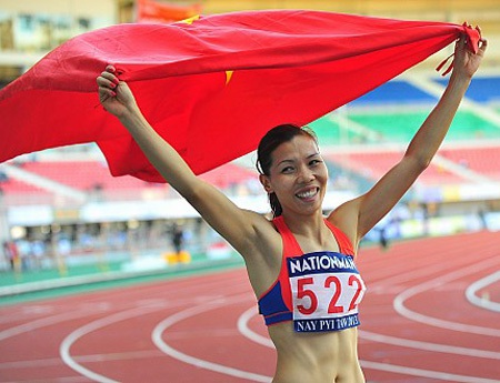 Nữ hoàng tốc độ Vũ Thị Hương nói lời chia tay đội tuyển quốc gia