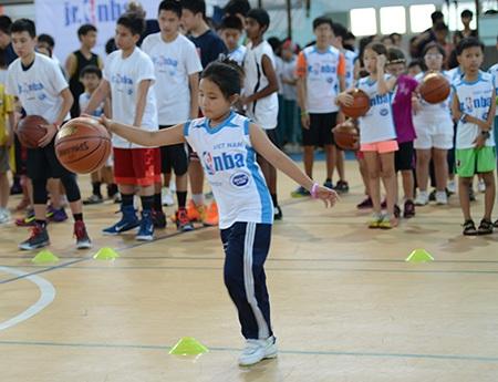 Chương trình bóng rổ Jr.NBA lần thứ 2 được tổ chức tại Việt Nam