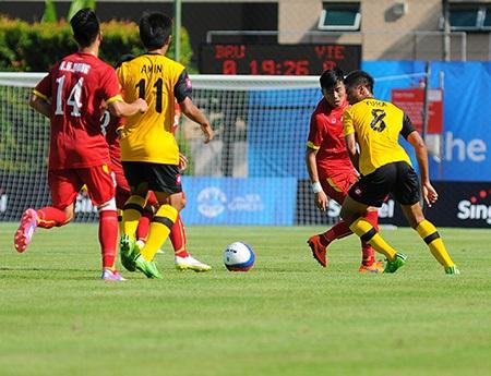 Đội tuyển U23 Việt Nam sẽ gây bất ngờ cho U23 Malaysia (ảnh: Gia Hưng)
