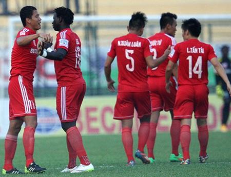Vòng 1/8 cúp quốc gia 2015: Nóng ở sân Thanh Hóa và Cẩm Phả