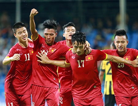 Chiến thắng của U23 Việt Nam mang đậm dấu ấn của HLV Miura (ảnh: Gia Hưng)