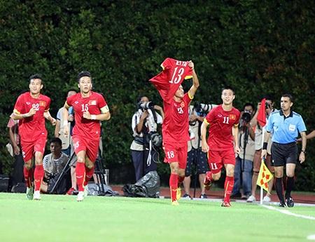 U23 Việt Nam cho đến giờ vẫn đi đúng lộ trình (ảnh: Gia Hưng)