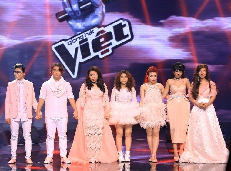 Đội của Đàm Vĩnh Hưng Vicky Nhung, Bảo Trâm, Phượng Vũ được khán giả lựa chọn để đi tiếp