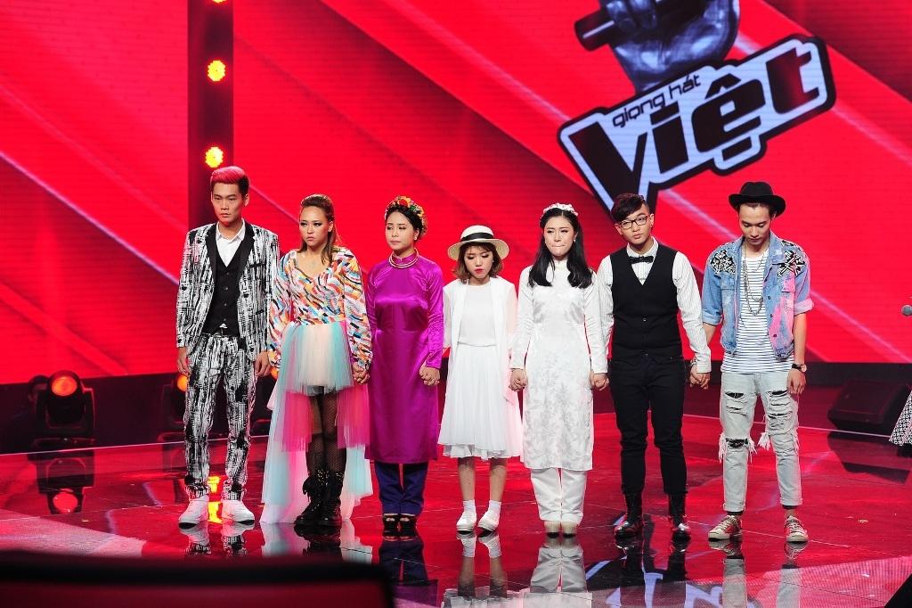Ba thí sinh được đi tiếp của đội Tuấn Hưng do khán giả bình chọn là Thu Thủy, Yến Lê, Hạ Vy.