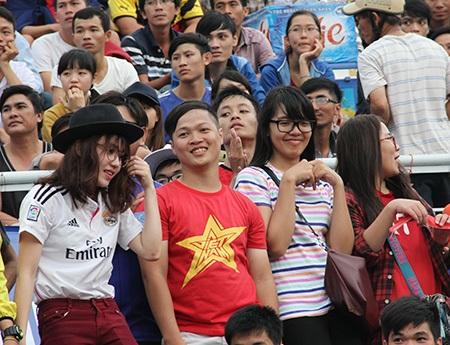 Thành viên của hội CĐV Việt Nam cũng vậy