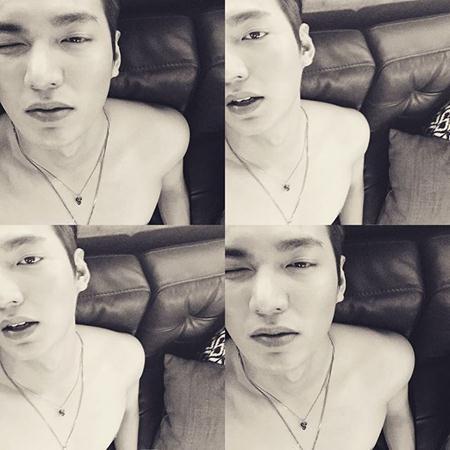 Loạt hình ảnh nóng bỏng của Lee Min Ho