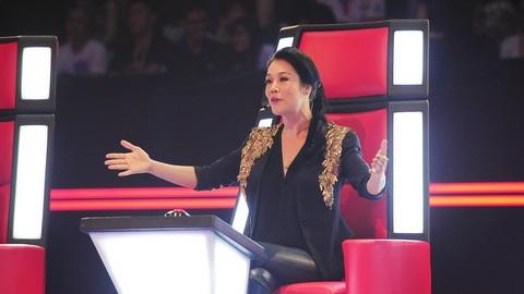 Thu Phương lần đầu tiên ngồi ghế nóng chương trình Giọng hát Việt