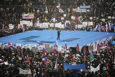 Chọn mặt gửi vàng qua lá phiếu bầu Tổng thống Nga - 1