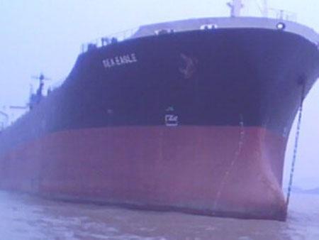 Tàu Sea Eagle với 9 thuyền viên đang mắc kẹt tại Trung Quốc