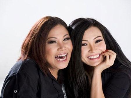 Đôi bạn thân Siu Black - Phương Thanh (ảnh: Đất Việt)