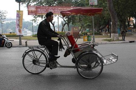 Nét văn hóa xích lô riêng có của Hà Nội