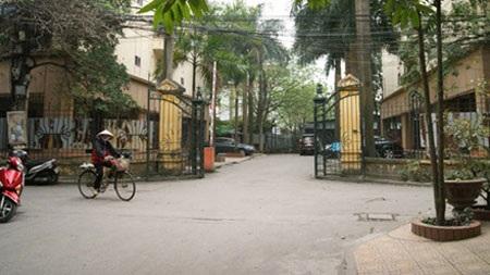 Khu nhà công vụ Hoàng Cầu (ảnh:Tiền Phong)