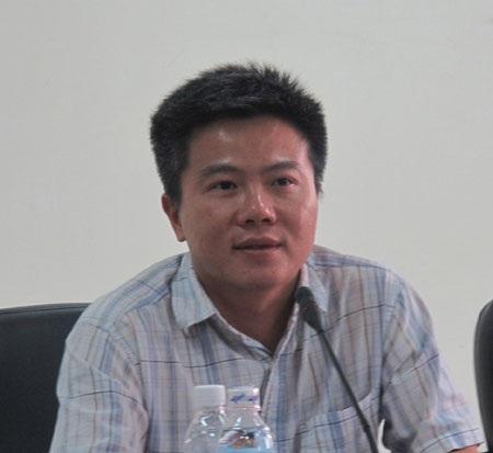 Giáo sư Ngô Bảo Châu (ảnh: Hồng Hạnh)
