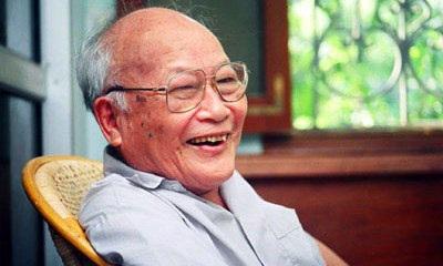 Nhà văn Tô Hoài (ảnh: theo Tiền Phong)