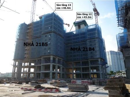 Tiến độ thực tế của dự án ngày 31/10/2014, chi tiết tham khảo Website: