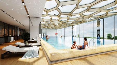 Hình ảnh bể bơi