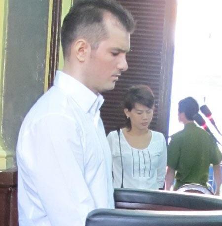 Bị cáo Ibanescu Ciprian tại tòa