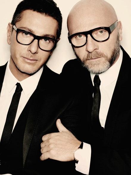 Domenico Dolce và Stephano Gabbana: