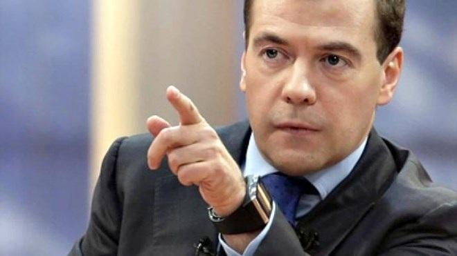Thủ tướng Nga Dmitry Medvedev. (Nguồn: RT)