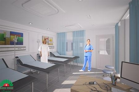 Phòng bệnh đạt chuẩn quốc tế