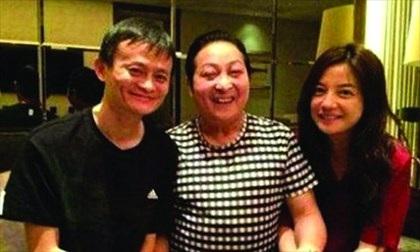 Jack Ma và vợ chồng Triệu Vy khá thân thiết